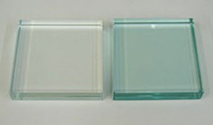 Low Iron vs Typical Plate Glass